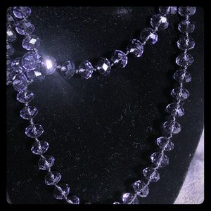 Jewelry - Amethyst colored glass beads